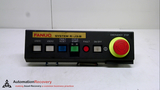 FANUC A05B-2450-C002, OPERATOR PANEL, EMERGENCY STOP, 2 USER CHANNELS,