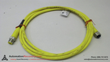 LUMBERG AUTOMATION RST 4-RKT 4-602/2M, CABLE, 2 METERS, MALE/FEMALE,