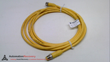 LUMBERG AUTOMATION RST 4-RKT 4-643/3M, DOUBLE ENDED CORDSET, 3 METERS