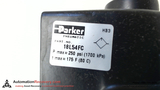 PARKER 18L54FC LUBRICATOR W/OIL LEVEL WINDOW 250 PSI THREAD SIZE 1