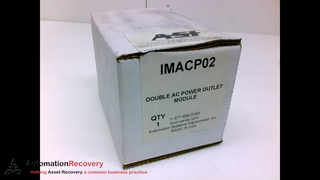 AUTOMATION SYSTEMS INTERCONNECT INC IMACP02 DOUBLE AC POWER OUTLET MOD