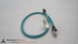 LUMBERG AUTOMATION 0985 656 500/0.5M DBL-END CORDSET, MALE, STRAIGHT,