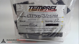 TEMPREL LTP500-J/2.5MM - PACK OF 12 -, J TYPE, STANDARD PLUG, 2.5MM