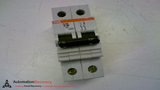 ABB S262D20 CIRCUIT BREAKER 277 TO 480 VAC 20 AMP 2 POLE