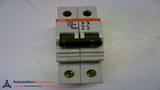 ABB S272K20A CIRCUIT BREAKER 277 TO 480 VAC 20 AMP 2 POLE